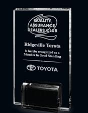 Graphic & Crystal Marquis Rectangle Award (6.25)