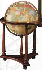 Lafayette Illuminated Antique World Globe