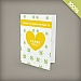 Small Seed Paper Greeting Card, 1-Sided