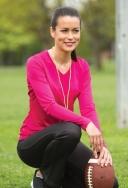 ATC - L3520LS - T-Shirt sport PRO TEAM pour femmes col en v - Manche longue - 100% poly