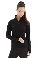 ATC - L2015 - Lifestyle Fleece 1/2 Zip Sweatshirt Ladies