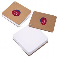 RECYCLED CARDBOARD PIVOT PAD - WHITE