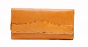 Concetta Ladies Cheque Mate Wallet - British Tan
