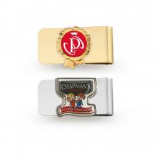 Money Clip with Photoart Classicl Lapel Pin (Up to 1 1/4)