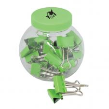 BINDER CLIPS IN A CONTAINER