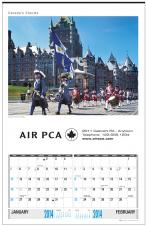 Multi-Sheets Calendars - CANADA'S CHARMS