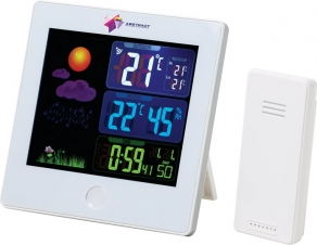 Elements Weather Station with Clock