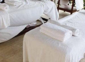 Spa Fitted Sheet Non Iron 35X75X5