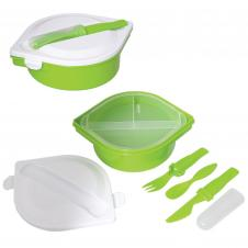 Munch N' Go Lunch Container w/ Cutlery