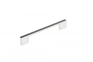 Contemporary Metal Pull - 8160 - 128 mm - Chrome