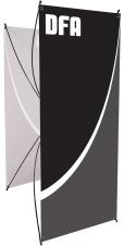 Spring 3 - SB-3 - 27.5 x 70.75 - Stand-bannière écono non-rétractable - Sac inclus
