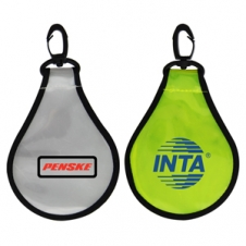 Light Bulb Shaped Reflective Safety Tag (3 Day Service)