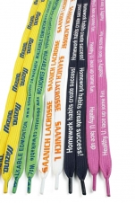 Polyester Tubular Shoelaces (1/2x36)
