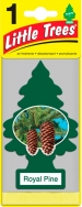LITTLE TREE CAR AIR FRESHENER ROYAL PINE