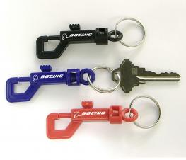 Clip-on Key Holder with Key Ring