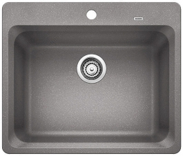 Blanco Sink - Vision 1 - 25 x 20-3/4 - Metallic Gray