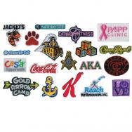 1 Custom Embroidered Appliques
