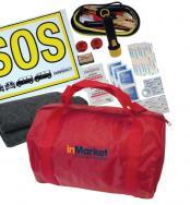 Touring Road Hazard & First Aid Kit - Red
