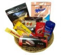 Winter Chocolate Basket