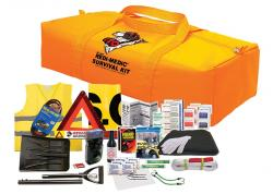 Ranger 3 Automotive/ First Aid Kit with Shovel (57 Piece Set)