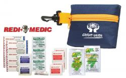 Designer Mini First Aid Golf Kit in Clip Pouch (24 Piece Set)
