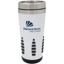 18oz Race track thermal tumbler