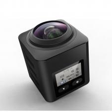 Caméra d'action sportive - 360° - 4K - Wi-Fi HD - 16 megapixels - Noir