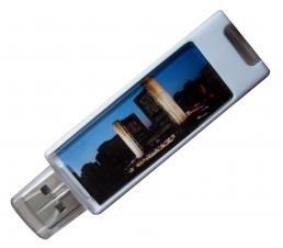 Custom Plastic USB Flash Drive - Rectangle