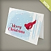 A6 - 100 percent Plantable Personalized Holiday Cards - Christmas Canary