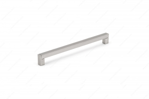Poignée contemporaine en acier inoxydable - 520 - 288 mm - Nickel brossé