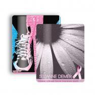 Breast Cancer Awareness 2.5x3.5 Gift Card Stock Lanyard Card