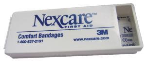 Plain Bandage Dispenser- Less Bandages (Blank) 1 1/2x4