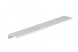Poignée contemporaine pour rebord en aluminium - 9898 - 416 mm - Aluminium