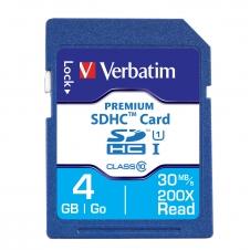 Verbatim - 96171 - 4GB Premium SDHC Memory Card, Class 10