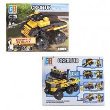 Ensemble de blocs - Camion - 43 pièces