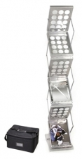 Zedup 1 - 6 Pocket Literature Rack