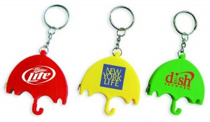 Umbrella Shape Tape Measure with Key Chain