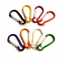 Carabiner with Split Key Ring (5 Cm)