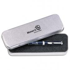 Sandstone Single Tin Gift Box for Pen/ Rollerball/ Pencil