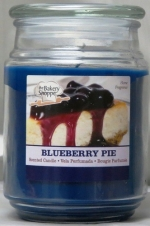 BAKE SHOP 18 OZ CANDLE JAR-BLUEBERRY PIE