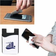 Blemish Buster Smart Phone Wallet w/ Screen Cleaner