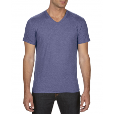 ANVIL - 6752 - T-Shirt - T-Shirt à col en V Triblend - 50/25/25 - Bleu Cendré - 2X-Large