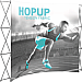 HopUp - Curved 4x3 - 10' (110 x 89)
