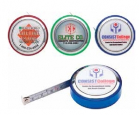 Round Plastic Measuring Tape