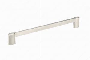 Poignée contemporaine en métal - 8728 - 256 mm - Nickel brossé
