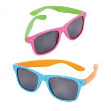 Bicolor Neon Sunglasses
