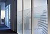 Window Films - Decorative Films - Frosted Films - INT 213 - Stripes of 13 mm