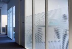 Film pour vitres - Films décoratifs - Films dépolis - INT 213 - Bandes de 13 mm