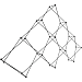 XCLAIM 6 Quad Pyramid - Display frame only