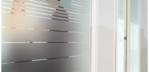 Window Films - Decorative Films - Frosted Films - INT 236 - Decreasing Fine Strip